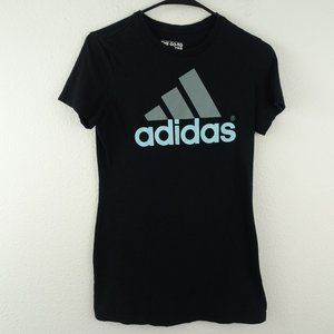🌵 Adidas The Go Tee Graphic Black Tee Size Small